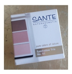 SANTE eyeshadow trio No. 1