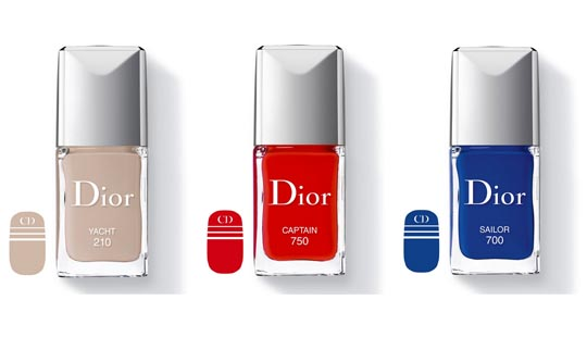 Christian Dior, Dior, Transat Collection, Nail Lacquers, Nail Polish, Summer 2014