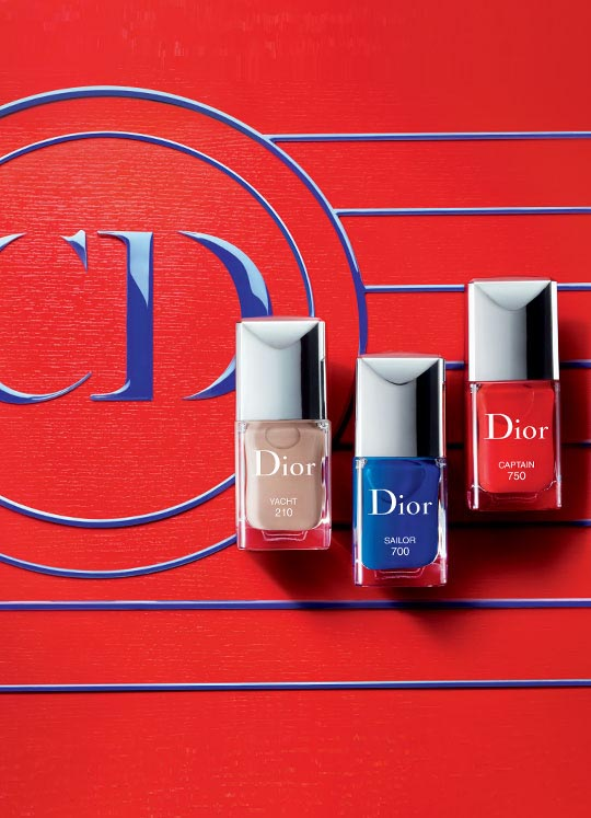 Christian Dior, Dior, Nail Lacquers, Transat Collection, Summer 2014