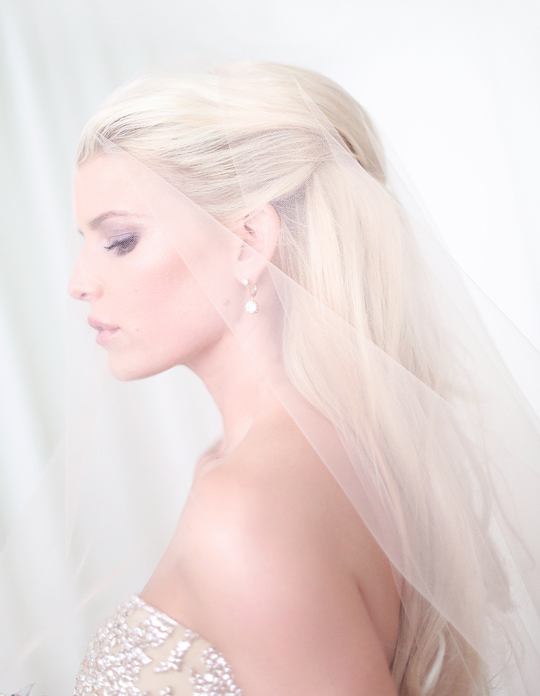 Jessica Simpson, Bridal Look, Wedding Picture, E-online